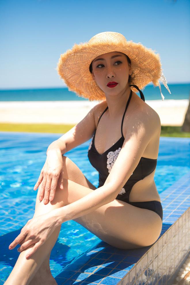 Thân hình nóng bỏng khó tin ở tuổi 43 của hoa hậu Hà Kiều Anh-9
