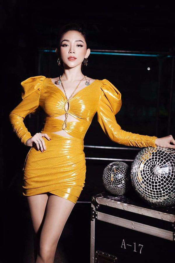 Tóc Tiên đích thị là nàng tắc kè hoa của showbiz Việt, mỗi ngày diện một màu nổi bần bật-5