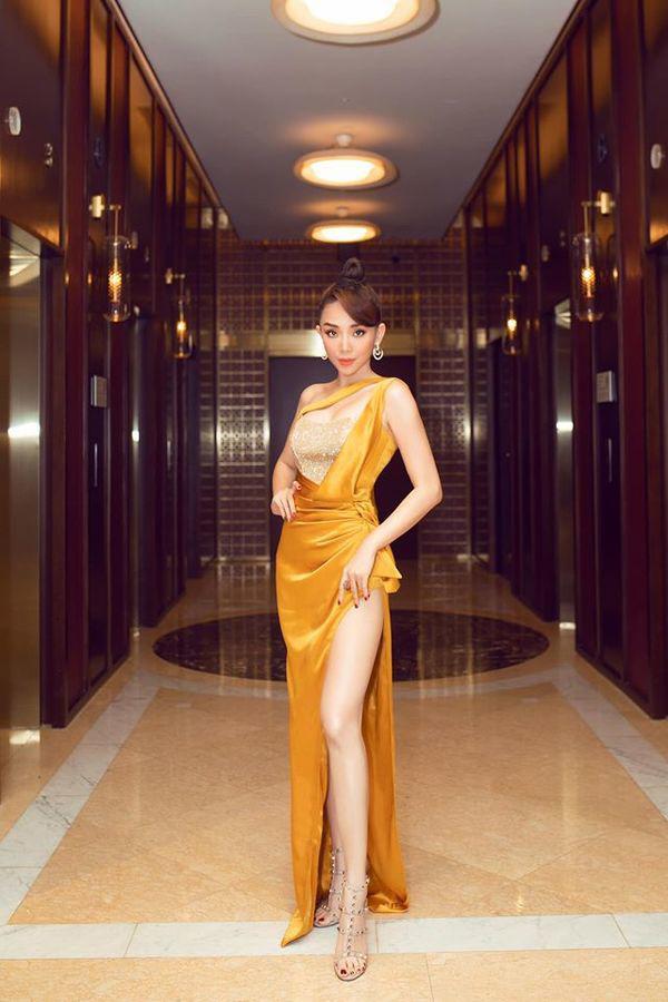 Tóc Tiên đích thị là nàng tắc kè hoa của showbiz Việt, mỗi ngày diện một màu nổi bần bật-6