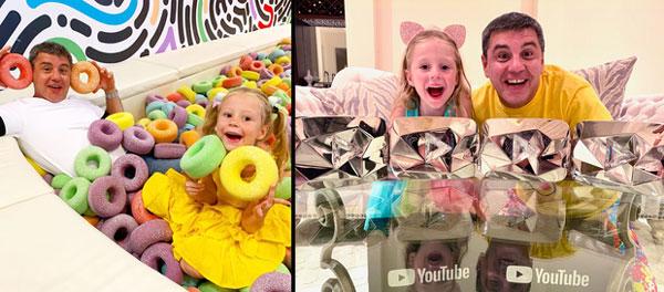 Cô bé mắc bệnh bại não kiếm 400 tỷ/năm nhờ YouTube: Làm liền 7 kênh hơn 100 triệu sub, có video suýt đạt tỷ view-1