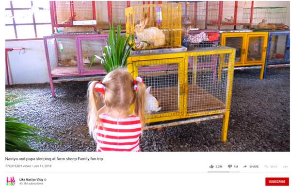 Cô bé mắc bệnh bại não kiếm 400 tỷ/năm nhờ YouTube: Làm liền 7 kênh hơn 100 triệu sub, có video suýt đạt tỷ view-2