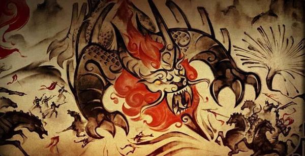 Đằng sau câu đối đỏ, pháo hoa ngày Tết và tiếng cười rộn rã là câu chuyện huyền thoại về con Niên - quái vật hung ác đêm Giao Thừa-1