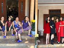Sự thật đằng sau bức ảnh 4 chị em mặc áo hoa của mẹ đón Tết, 2 cô trẻ nhất bị