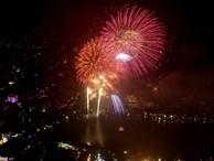 6 điểm bắn pháo hoa tầm cao ở Hà Nội trong đêm giao thừa