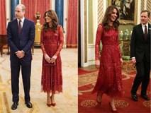 Công nương Kate quá lộng lẫy mà không chói lóa trong bộ cánh tuyền màu đỏ, trở thành nguồn cảm hứng mặc đẹp hoàn hảo cho chị em Tết này