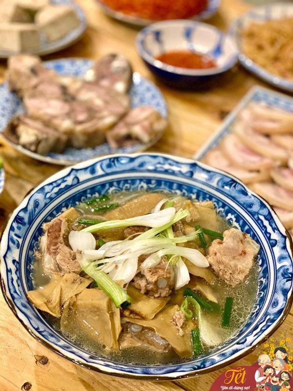 Mẹ Hà Nội tiết lộ tuyệt chiêu nấu ăn ngày Tết nhàn tênh, chẳng hề lo sợ-4