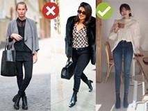 """Lỗi diện boots thấp cổ khiến chân dài cũng thành ngắn, hội chị em """"nấm lùn"""" càng phải """"cạch"""""""