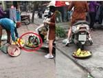 Cô gái hoang mang, điêu đứng khi bị dân mạng chửi bới dữ dội vì hiểu nhầm là người phụ nữ chạy xe máy cán nát mẹt hoa quả của người bán hàng rong-4