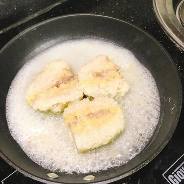 Rán bánh chưng cách này đảm bảo bánh giòn tan không cần một giọt dầu-2