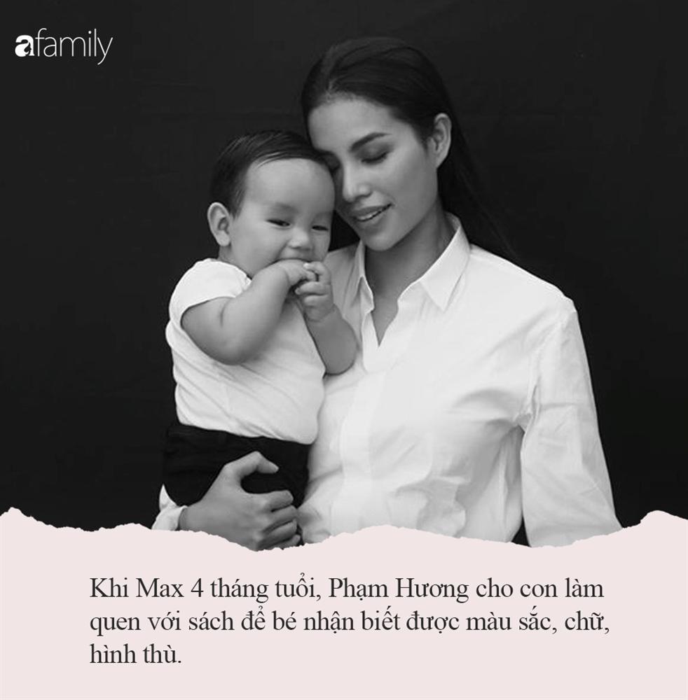Từ 4 tháng tuổi, Phạm Hương đã rèn cho con một thói quen đặc biệt, thế nên Max còn nhỏ đã thông minh và đầy tư chất đến vậy-3