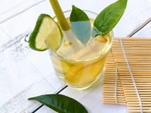 Tết này các mẹ nhớ làm trà sả uống thanh lọc cơ thể và chống tăng cân nhé!