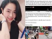 Cô gái hoang mang, điêu đứng khi bị dân mạng chửi bới dữ dội vì hiểu nhầm là người phụ nữ chạy xe máy cán nát mẹt hoa quả của người bán hàng rong