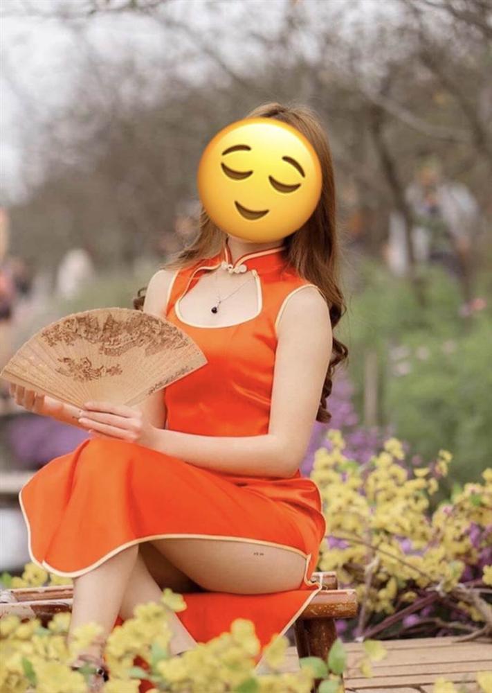 Phó nháy nhận rổ gạch đá vì chụp mẫu mặc sườn xám ngồi hớ hênh ở vườn hoa Tết, lên tiếng: Đã xin mẫu vén cao váy và cô đồng ý-1