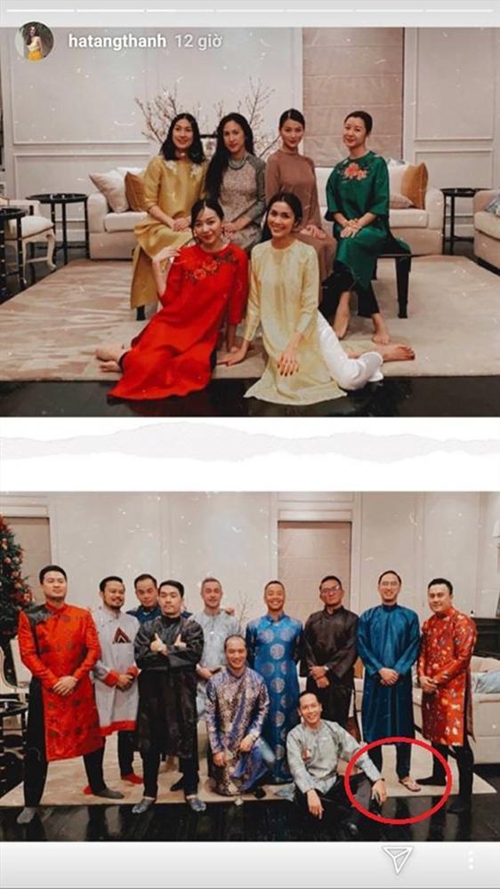 Đội hình diện áo dài của hội bạn Hà Tăng đang long lanh hoành tráng thì bị lựa chọn lạc quẻ của Louis Nguyễn phá bĩnh chút nhẹ-3
