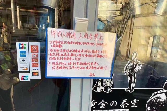 Nhà hàng treo biển cấm khách Trung Quốc-1