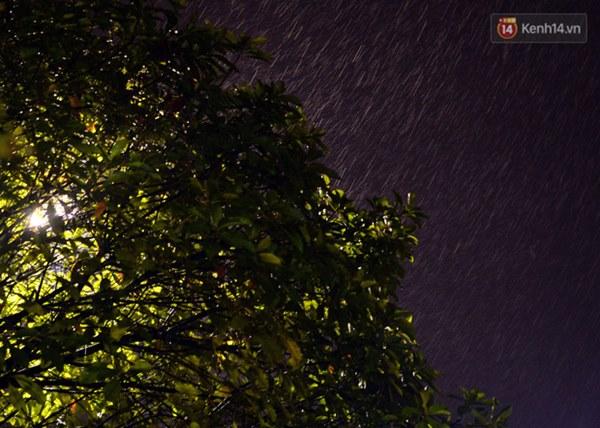 Lâu lắm rồi Hà Nội mới đón giao thừa trong tiết trời xấu thậm tệ, mưa xối xả cả ngày khiến đường ngập như sông-7