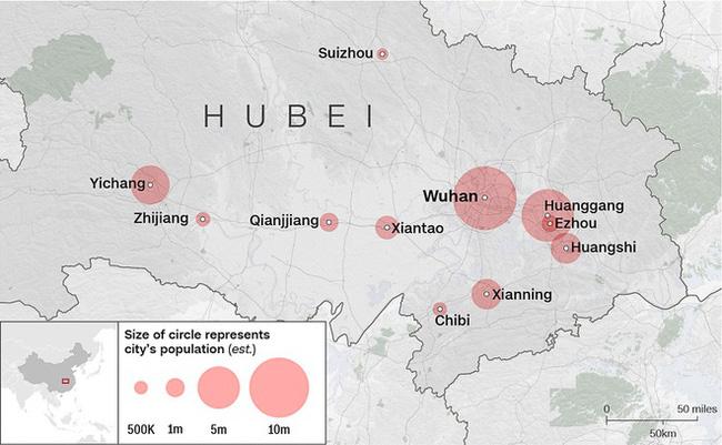 Dịch viêm phổi Vũ Hán: Số người chết tiếp tục tăng và những số liệu mới nhất khiến thế giới rùng mình-2