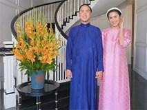 Vắng bóng 2 con, vợ chồng Tăng Thanh Hà giản dị mà