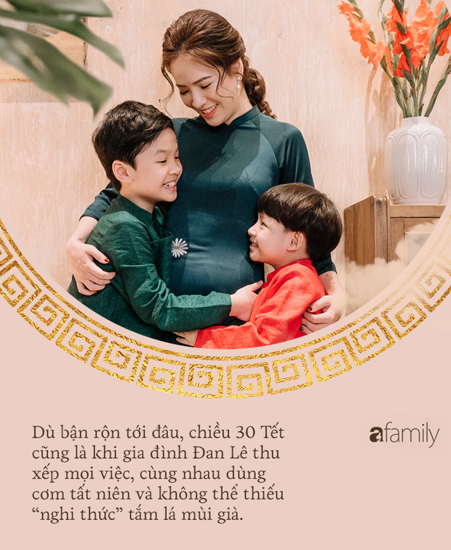 Ăn Tết kiểu gia đình Đan Lê - Khải Anh: Tết là đi du lịch để cả nhà được nghỉ ngơi bên nhau-11