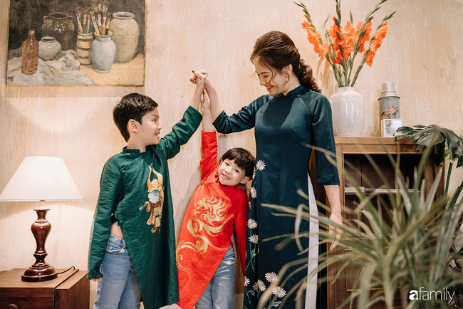 Ăn Tết kiểu gia đình Đan Lê - Khải Anh: Tết là đi du lịch để cả nhà được nghỉ ngơi bên nhau-18
