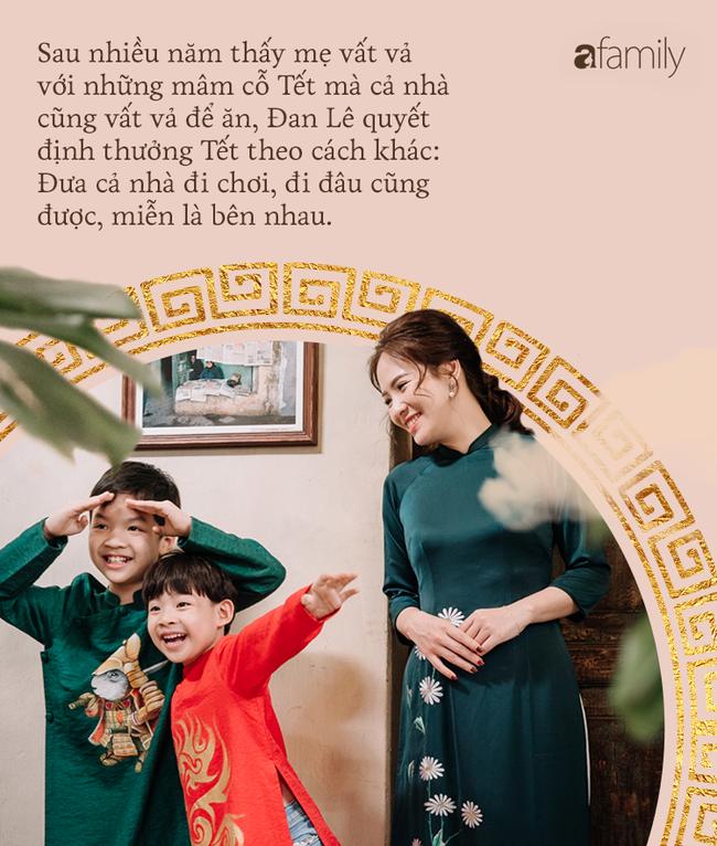 Ăn Tết kiểu gia đình Đan Lê - Khải Anh: Tết là đi du lịch để cả nhà được nghỉ ngơi bên nhau-17