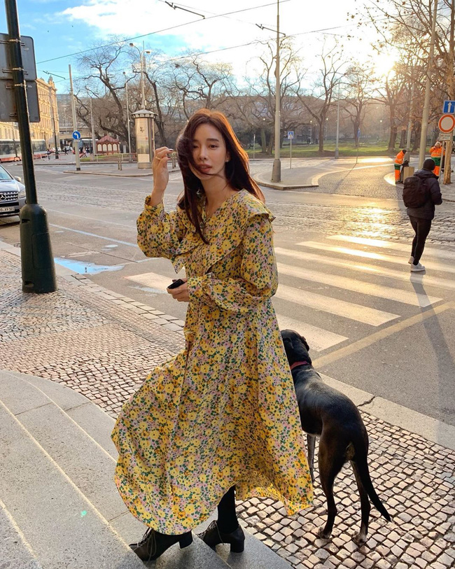 12 cách diện váy đẹp xinh nức nở, khiến chị em không thể cưỡng lại niềm mong mỏi được xúng xính ngay để du Xuân-6