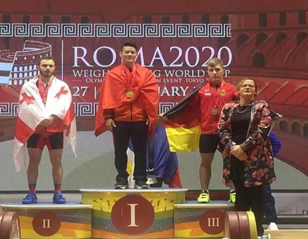 Thạch Kim Tuấn giành 3 HCV tại cúp thế giới, chạm tay vé dự Olympic 2020-1