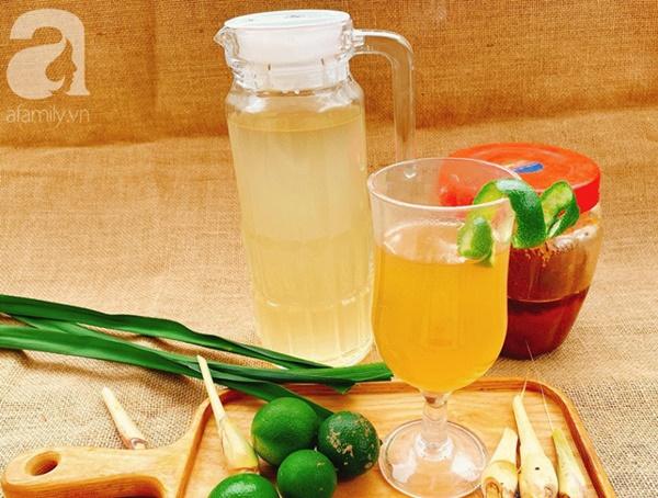 Phòng virus Corona - nấu ngay nước chanh sả cho cả nhà uống tăng đề kháng nhé các mẹ!-3