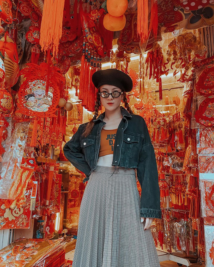 12 ý tưởng diện chân váy dài cực xinh và sang từ sao Việt bạn có thể diện quanh năm được-9