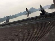 'Nam thanh nữ tú' trèo lên mái chùa lớn nhất Việt Nam để chụp ảnh: Những nụ cười xấu xí