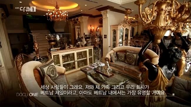 Choáng với nội thất vàng trong biệt thự của 2 người đẹp miền Tây lấy chồng đại gia-17