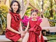 Những lần mặc đồ đôi 'chất như nước cất' của Hà Kiều Anh và con gái út