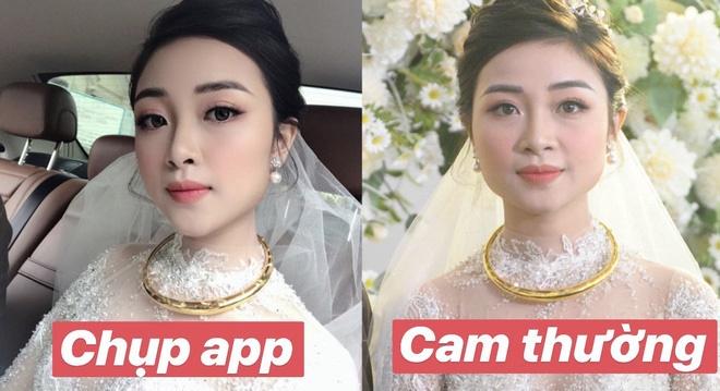 Nhan sắc vợ Văn Đức khi không dùng app chỉnh ảnh: Liệu có cân được camera thường?-1