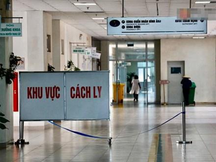 Cận cảnh khu vực cách ly kiểm tra và theo dõi bệnh nhân nhiễm virus Corona tại bệnh viện Nhiệt đới Trung ương