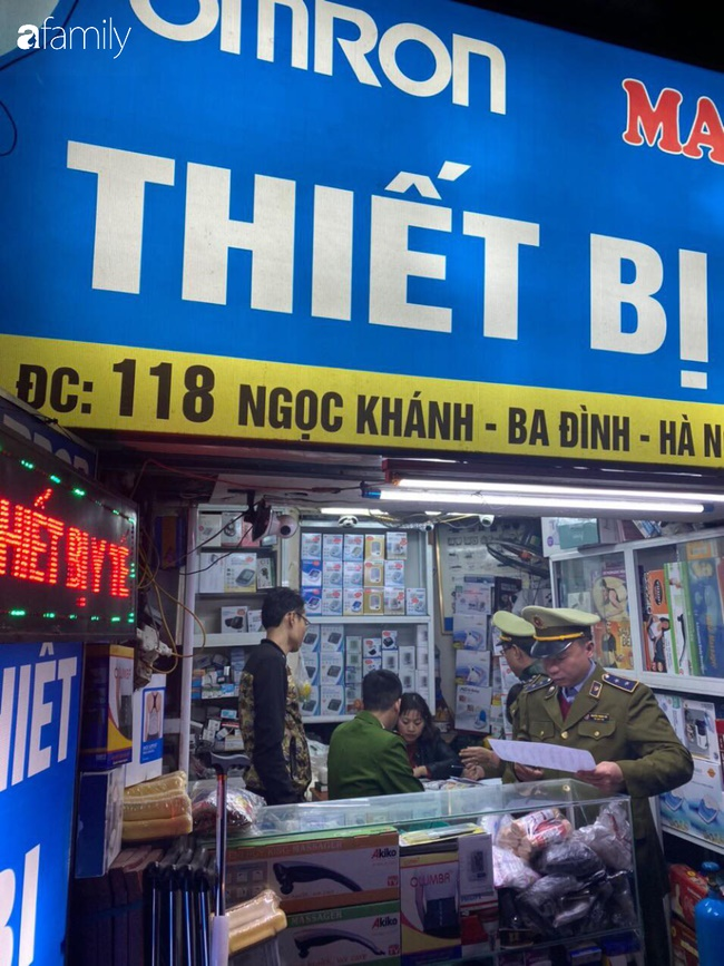 Hà Nội: Hàng loạt cửa hàng thuốc bị phạt vì đẩy giá khẩu trang lên cao để thu lời bất chính-1