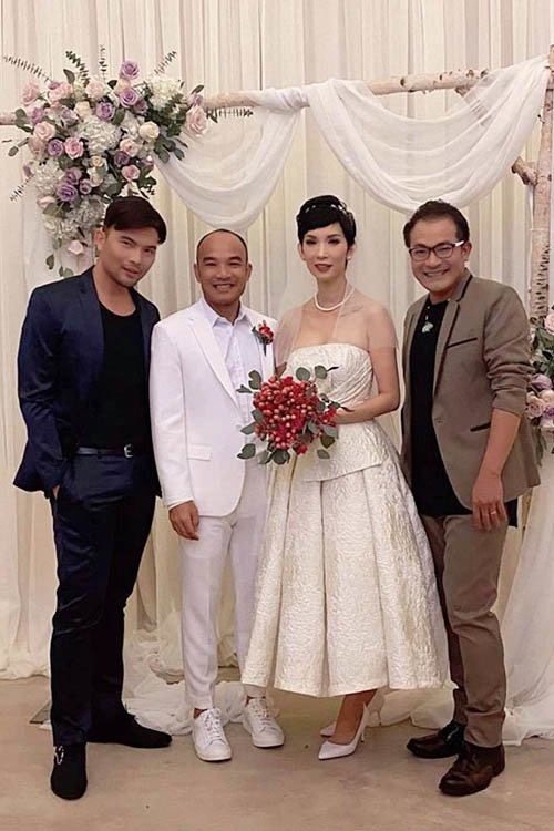 Việt Hương, Hồng Đào và dàn nghệ sĩ dự đám cưới Xuân Lan ở Mỹ-1