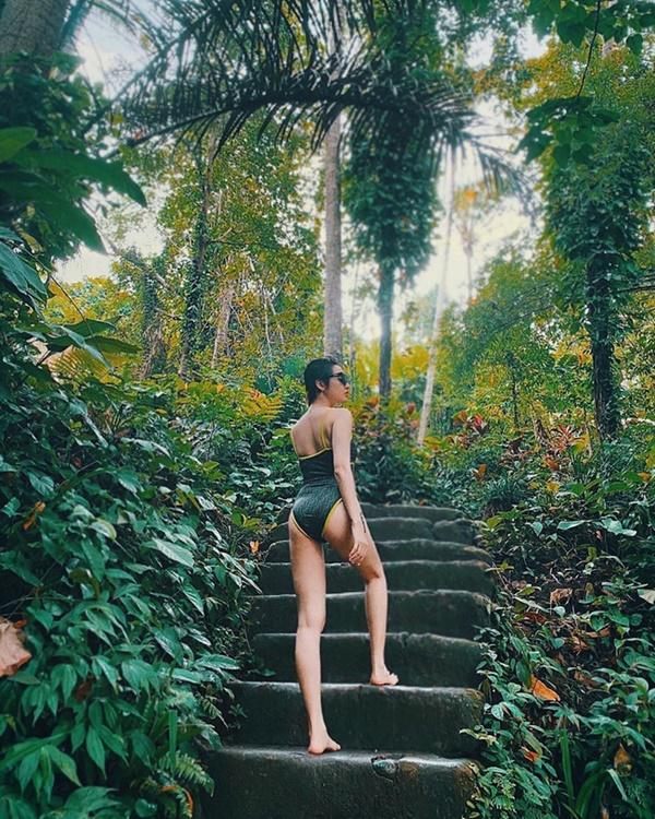 Mỹ nhân Việt thi nhau khoe dáng với bikini: Dăm ba cái Tết không thể làm body các cô bớt đẹp-1