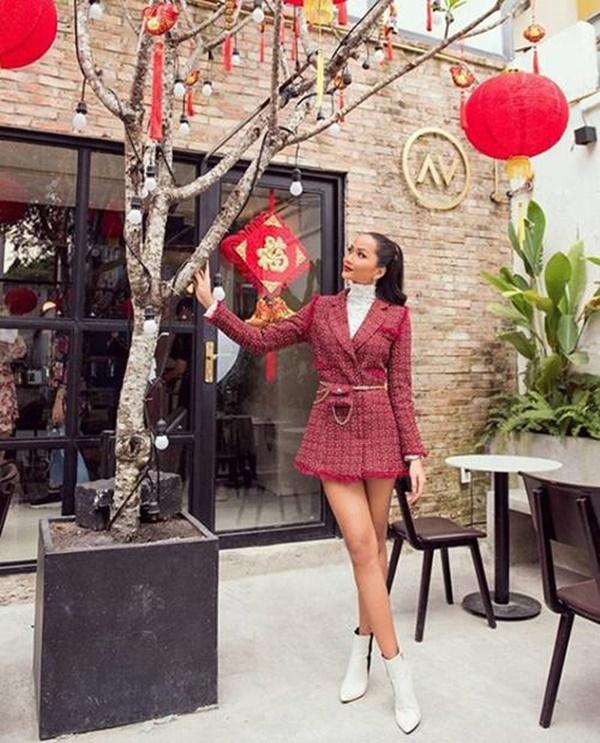 Đến Hoa hậu như HHen Niê cũng không tránh khỏi tình trạng lúc ăn hết mình, hết Tết hết hồn-3