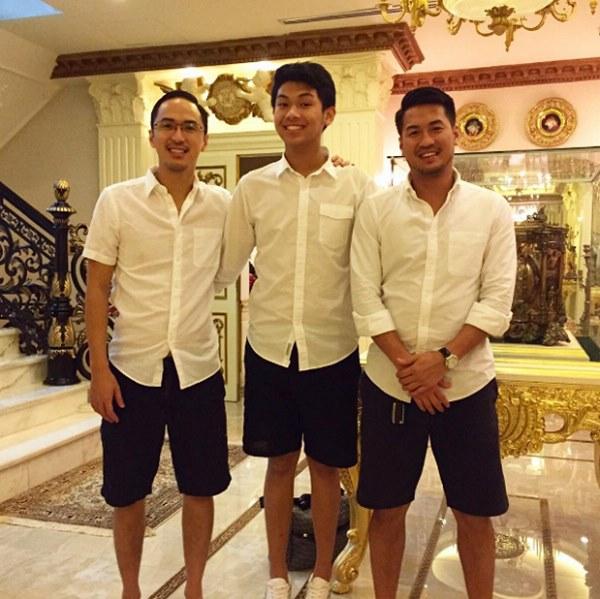 Hình ảnh hiếm hoi thời bé của anh em Louis Nguyễn - Phillip Nguyễn được công bố khiến dân tình trầm trồ vẻ soái ca từ nhỏ-2