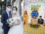 Chiếc váy trăm triệu của Quỳnh Anh được đặt giữa lễ đường, chiêm ngưỡng không gian sảnh cưới đẹp như cổ tích trước giờ G-23