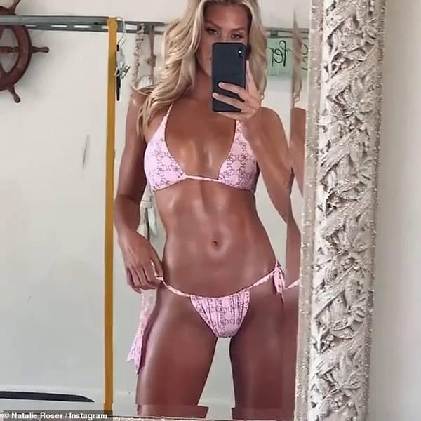 Mê mẩn ngắm đường cong bỏng rẫy của siêu mẫu Natalie Roser-2