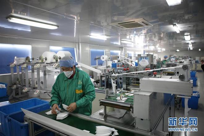 Bên trong các nhà máy sản xuất khẩu trang tại Trung Quốc-1