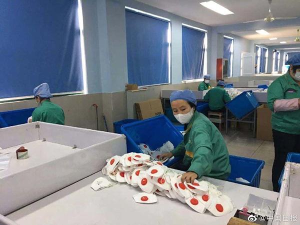 Bên trong các nhà máy sản xuất khẩu trang tại Trung Quốc-2