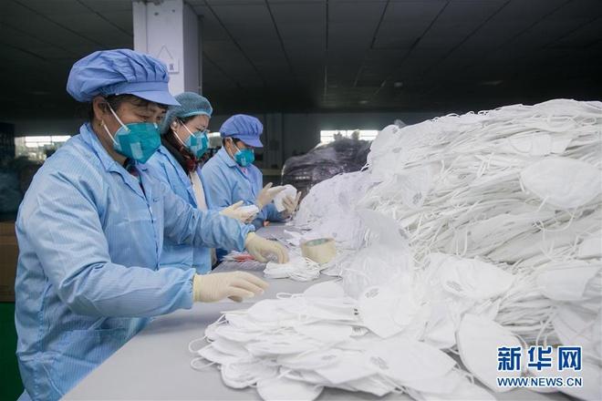 Bên trong các nhà máy sản xuất khẩu trang tại Trung Quốc-4