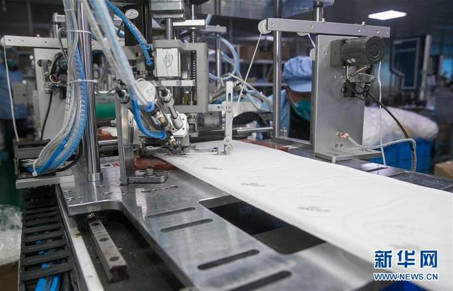 Bên trong các nhà máy sản xuất khẩu trang tại Trung Quốc-8