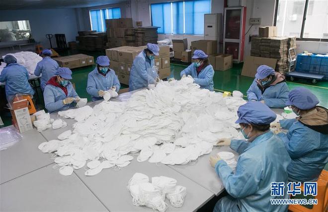 Bên trong các nhà máy sản xuất khẩu trang tại Trung Quốc-9