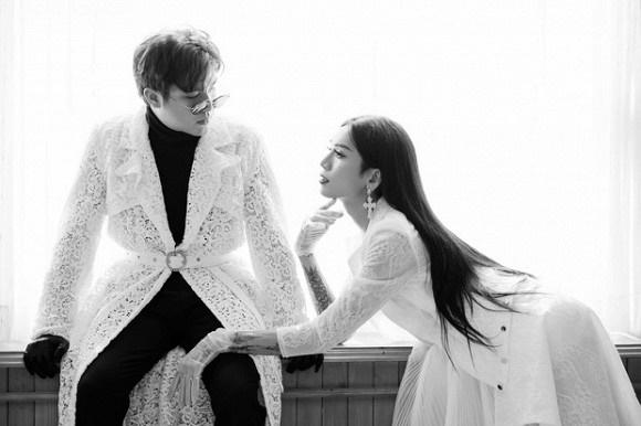 Kỷ niệm 4 năm 6 tháng yêu, BB Trần cùng bạn trai tung ảnh cô dâu - chú rể đẹp lộng lẫy-5