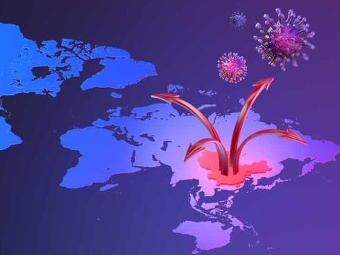 """Cập nhật diễn biến của virus corona trên bản đồ thế giới: Sự lây lan kinh khủng đến nỗi SARS và MERS trong quá khứ cũng phải """"chào thua"""""""