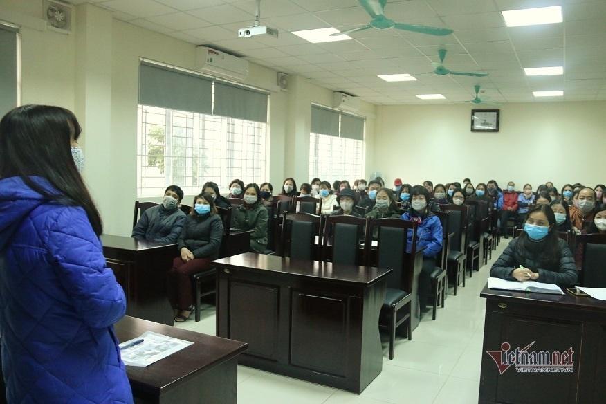 Giáo viên luộc khăn, chia rau...ngày nghỉ học phòng dịch virus corona-3