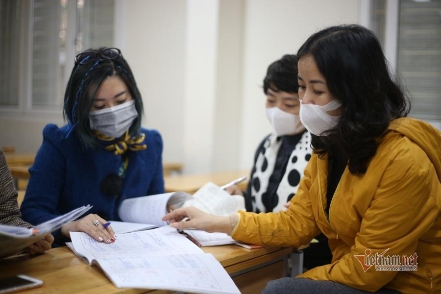 Giáo viên luộc khăn, chia rau...ngày nghỉ học phòng dịch virus corona-24